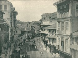 A glimpse of the city circa 1890,Bombay Kalba Devie Road