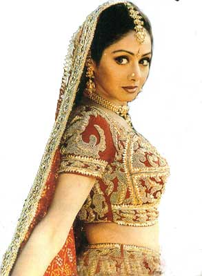 Sridevi on saree dus ka dum