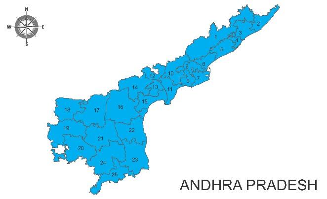 Andhra Pradesh Election Map