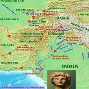 Alexander led campaigns in northern India in 326 BC