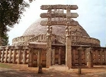Mauryan empire's Sanchi
