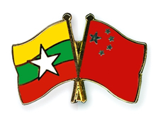China and Myanmar