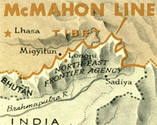 McMahon Line - the natural barrier