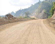 Road network in Itanagar