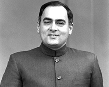 Rajiv's visit and relations thaw