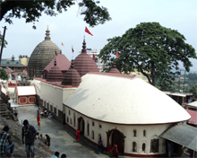 Kamakhya temple in Assam