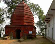 Umananda temple in Assam