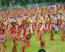 Colourful Bihu festivals in Assam