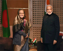 Land-boundary agreement between Indian and Bangladesh