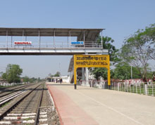 Assam Best Furkating Railway station