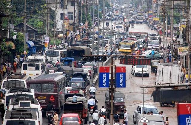 Traffic in Assam