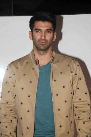 Actor Aditya Roy Kapoor on the sets of The Kapil Sharma Show