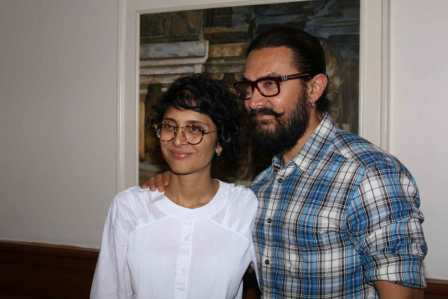 Actor Aamir Khan during the announcement