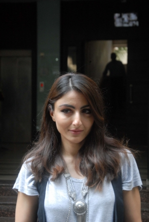 Soha Ali Khan during the media interaction