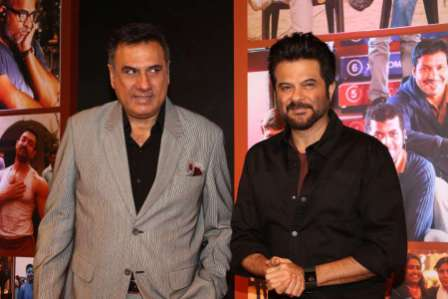 Actor Anil Kapoor during the success party of film Dangal
