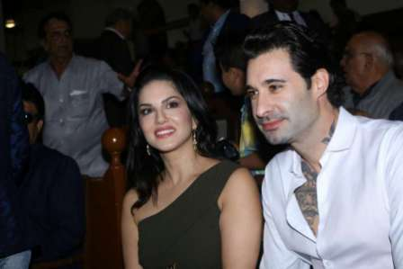Sunny Leone along with her husband Daniel Weber