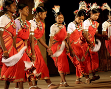Karma traditional folk dance in Chhattisgarh