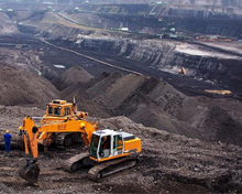 Mining and industrial activities in Chhattisgarh