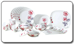 Borosil Melamine Dinner Set