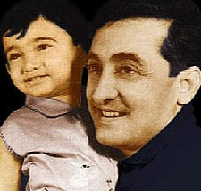 Aamir Khan with father