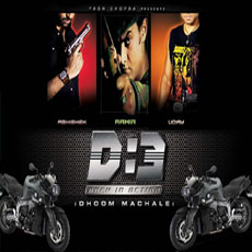 Abhishekh in Dhoom 3