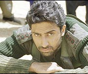 Abhishek Bachchan in his movie