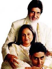 Abhishek Bachchan With Family