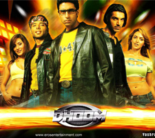 Abhishekh in Dhoom