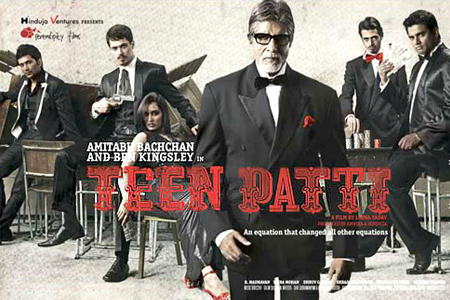 Amitabh in Teen Patti