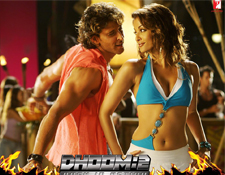Hrithik in Dhoom-II
