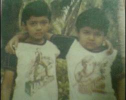 Karthi childhood pic