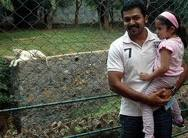 Karthi with surya daughter