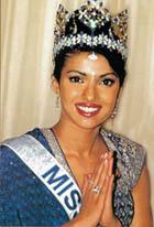 Priyanka Chopra As Miss Word