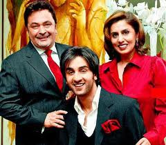 Ranbir Kapoor With Family image