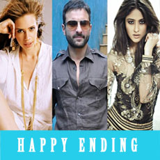 Saif Ali Khan in happy ending