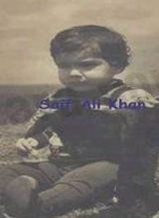 Saif Ali Khan Childhood Photo
