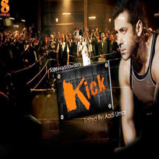 Salmaan in kick