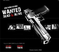 Salmaan in Wanted