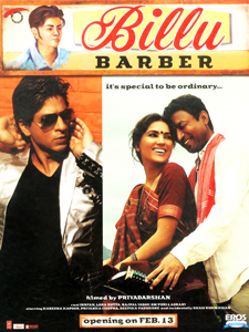 Shahrukh in Billu Barbar