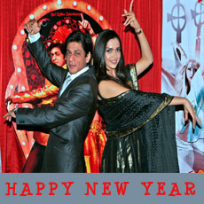 Shahrukh in Happy new year