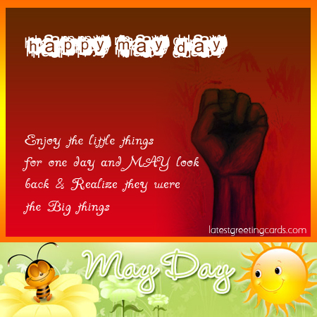 Happy May Day cards, May Day greeting cards