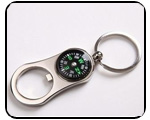Compass Bottle Opener Navigation Key Chain