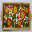 Tray Glass Painting