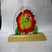 Napkin Holder Glass Painting