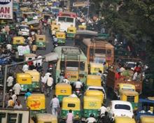 Traffic in Gujarat