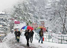 snow-laden of Himachal Pradesh
