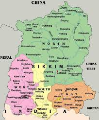 Maps of Sikkim