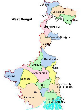 Maps of West Bengal