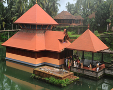 Ananthapura Lake Temple of Kerala