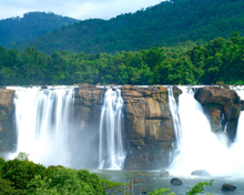 Athirappilly Falls of Kerala